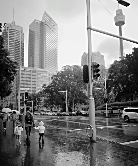 Rainy Sydney
