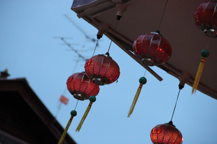 More lanterns at Yap Kongsi