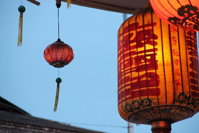 Lanterns at Yap Kongsi (Chinese Clanhouse)