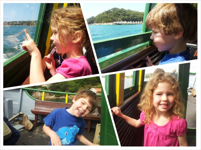 On the Bundeena ferry