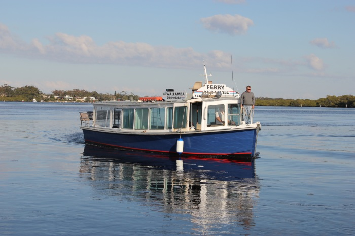 Our ferry - the Wallamba