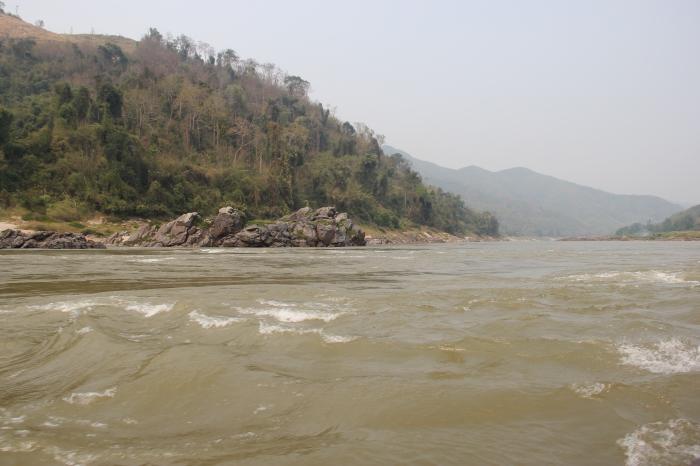 Mekong River Huay Xai Luang PRabang