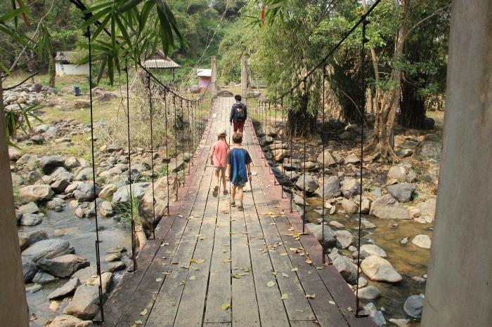Nam Nyon waterfall Huay Xai